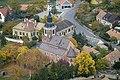 A Felsőörsi prépostsági templom légi felvételen.jpg
