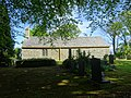 A frame of trees and St Mary's Church, Llanfair-yn-y-Cwmwd, Anglesey, Wales. 09.jpg