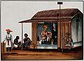 A man seated in a arrack shop Wellcome V0045557.jpg