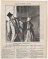 A misapprehension at the Odeon, on a day of drama, from 'Theater sketches,' published in Le Charivari, May 4, 1864 MET DP877313.jpg