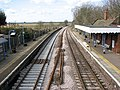 A new track through Reedham station - geograph.org.uk - 1754214.jpg