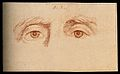 A pair of eyes expressing the character of a solid thinker, Wellcome V0009236.jpg