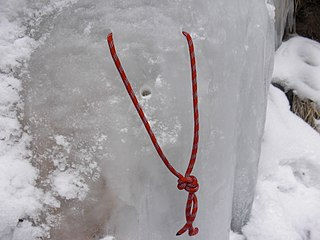 Abalakov thread climbing knot