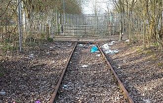 Abandoned railway - Image: Abandoned railway line in the UK
