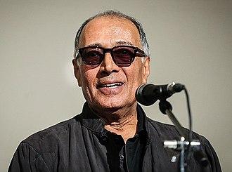 Abbas Kiarostami - Kiarostami in a 2015 ceremony in Tehran, Iran.