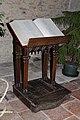 Abbatiale St Césaire (Maurs)-Lutrin d'oratoire.jpg
