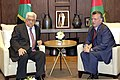 Abdullah II welcomes Mahmud Abbas 02.jpg