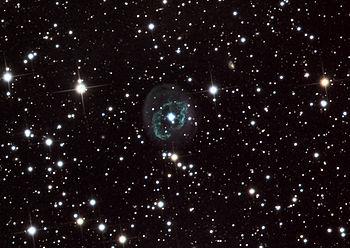 English: Abell 78 planetary nebula, 24 inch te...