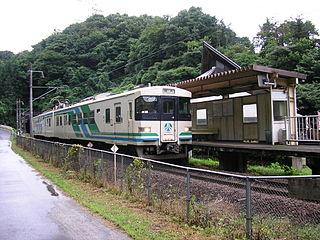 Abukuma Express Line railway line in Japan