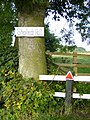 Access to public footpath at Shepherd's Hill - geograph.org.uk - 223351.jpg