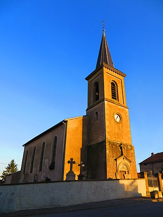 Achain - The church in Achain