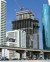 Acico Twin Towers Under Construction on 25 January 2008.jpg