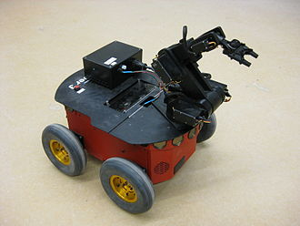 Python Robotics - The Pioneer robot is one of many which PyroBot can simulate.