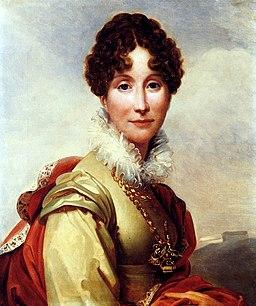 """Adélaïde d'Orléans """"Madame Adélaïde"""" by François Gérard"""