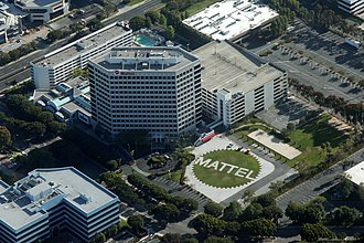 Mattel - Mattel headquarters in El Segundo, California