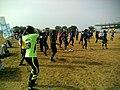 Aerobics session by dettol cool at unilorin stadium 10.jpg