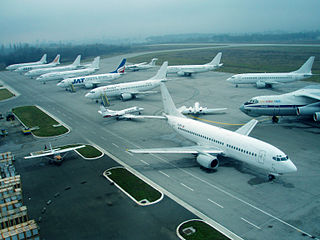 International airport of Serbia