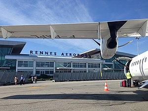 Rennes–Saint-Jacques Airport - Image: Aeroportde Rennes