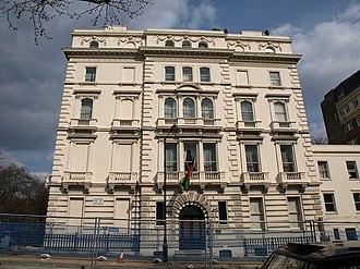 Afghanistan–United Kingdom relations - Image: Afghan Embassy in London