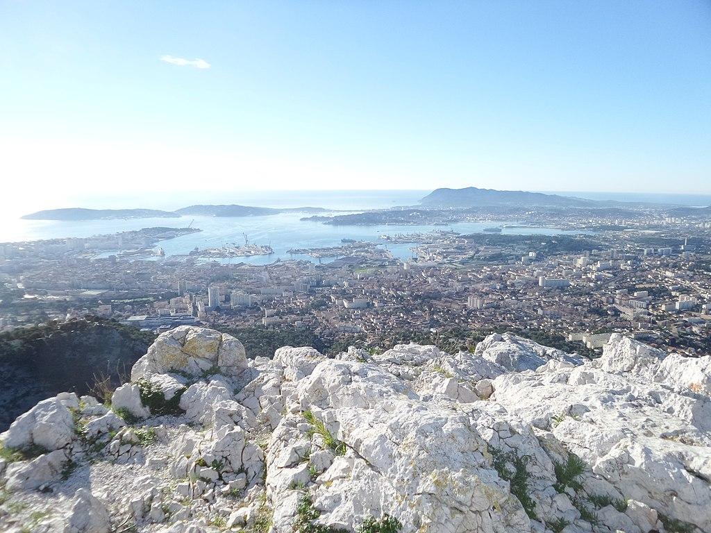 Mont Faron view