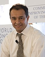 Ahmed Reda Chami - World Economic Forum on the Middle East 2010.jpg