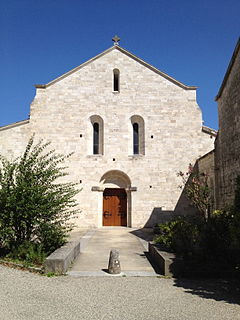Aiguebelle Abbey abbey located in Drôme, in France
