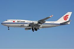 Boeing 747-400 der Air China