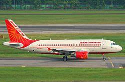 Air India Airbus A319-112; VT-SCG@SIN;07.08.2011 617dv (6069448218).jpg