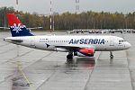 Air Serbia, YU-APA, Airbus A319-132 (29969656370).jpg