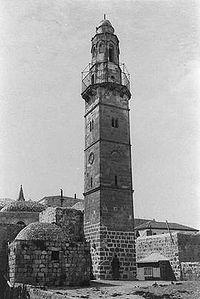 Al-Khanka Mosque in the old Jerusalem.jpg