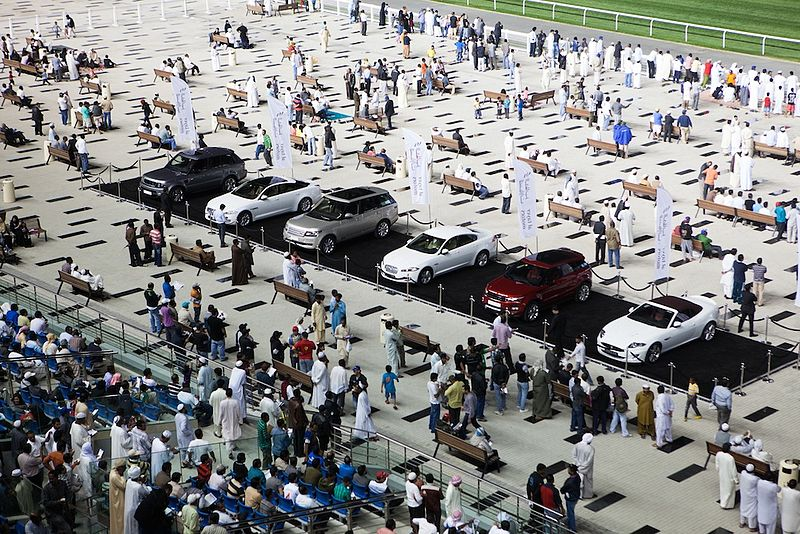 File:Al Tayer Motors Sponsors High-class Dubai World Cup Carnival (8490934357).jpg