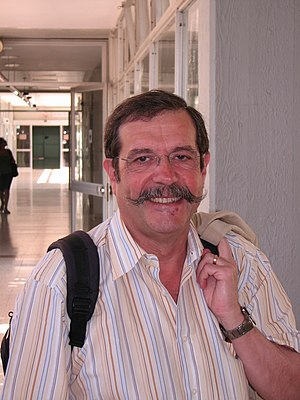 Alain Aspect - Alain Aspect on a visit to Tel Aviv University in 2010