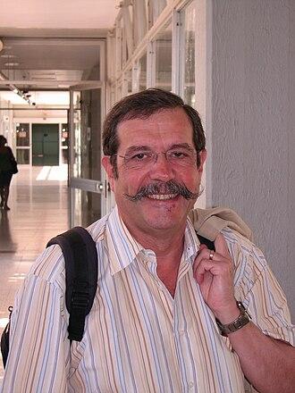 Alain Aspect - Alain Aspect on a visit to Tel Aviv University in 2010