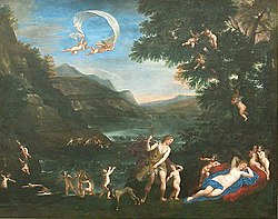 Francesco Albani: Adonis Led by Cupids to Venus