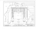 Albert Van Voorhis House, Maple and Franklin Avenues, Wyckoff, Bergen County, NJ HABS NJ,2-WYCK,1- (sheet 14 of 18).png