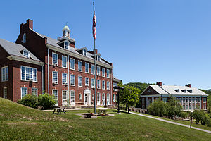 National Register of Historic Places listings in Randolph County, West Virginia - Image: Albert and Liberal Arts Halls