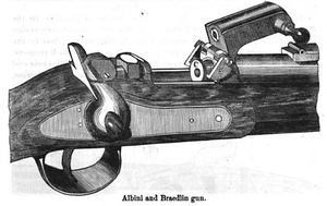 Albini-Braendlin rifle - Image: Albinimechanism