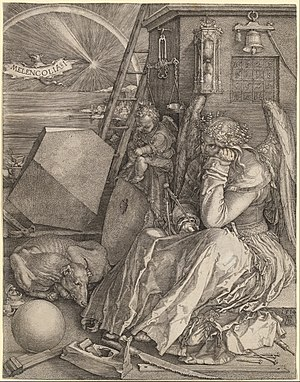 Portrait of the Artist's Mother at the Age of 63 - Image: Albrecht Dürer Melencolia I Google Art Project (427760)