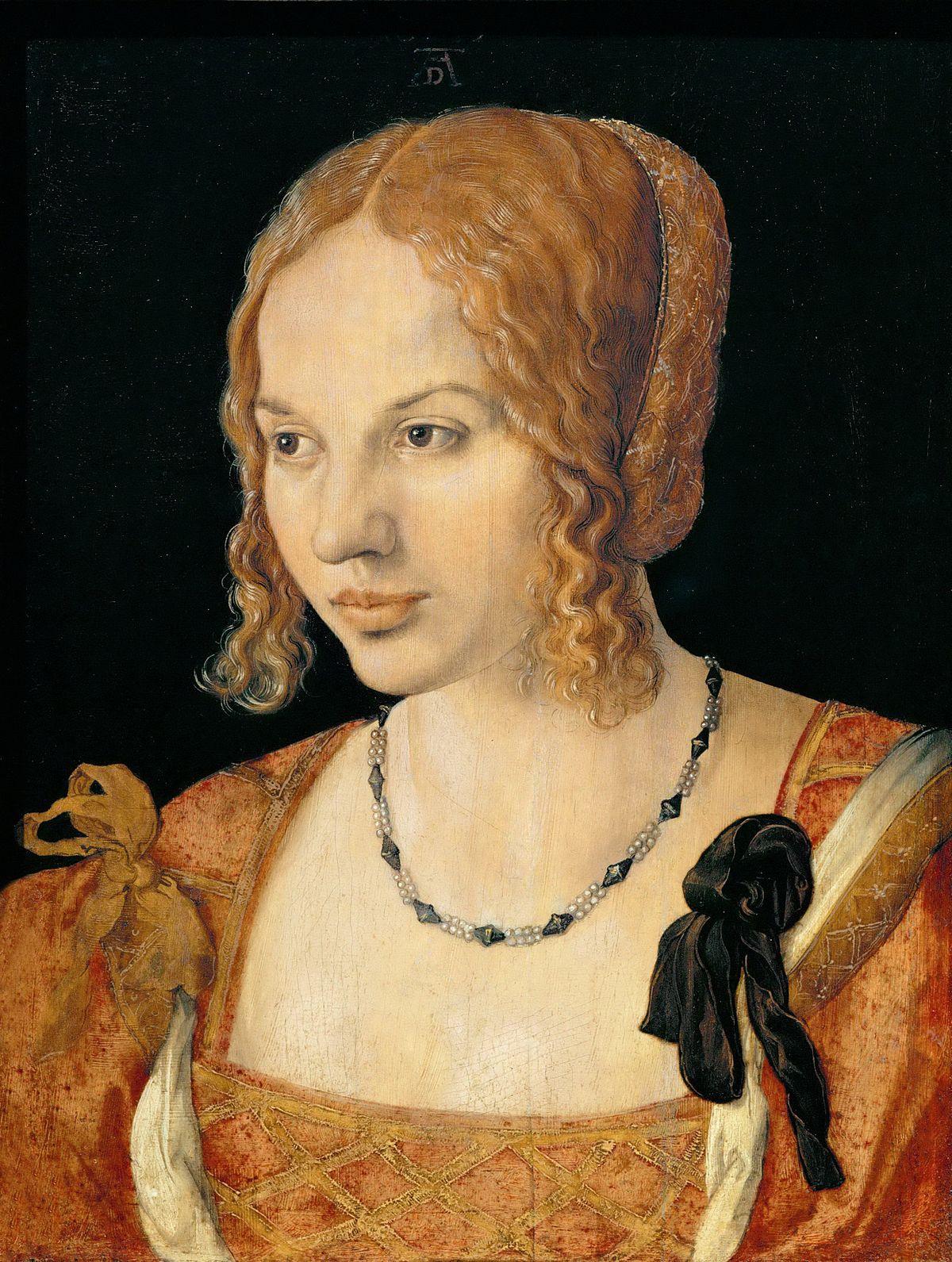 Portrait Of A Venetian Woman Wikipedia