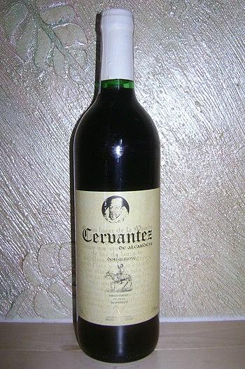 English: Cervantez, wine of Spain