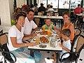 Alex de Minaur, family & Cindy Dock 2005 Alicante Spain.jpg