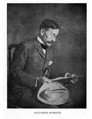 T. Alexander Harrison - Alexander Harrison, 1914.