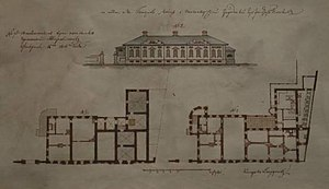 Alexander I Palace - Image: Alexander I Palace Plan