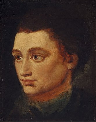 Robert Fergusson - Portrait by Alexander Runciman, 1772