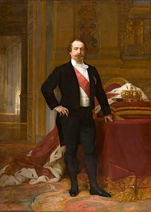 Paris during the Second Empire - Napoleon III by Alexandre Cabanel (about 1865)