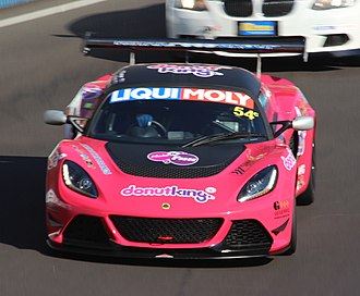 2014 Liqui Moly Bathurst 12 Hour - The Class C-winning Lotus Exige Cup R of Tony Alford, Peter Leemhuis and Mark O'Connor.