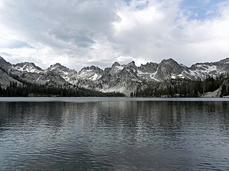 Cecil Andrus - Alice Lake in Idaho's Sawtooth Wilderness