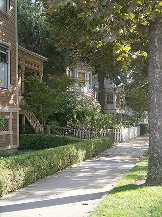 National Register of Historic Places listings in Sacramento County, California - Image: Alkali Flat Central Historic District
