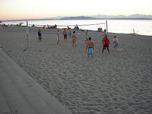 Alki Beach, Seattle, Washington (looking south...