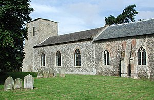 Helhoughton - Image: All Saints, Helhoughton, Norfolk
